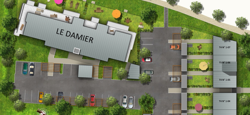 Coop de construction - Le damier
